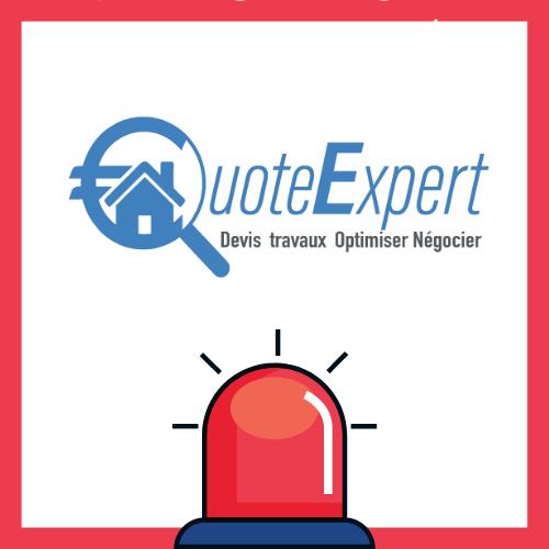 service urgence logo quote expert